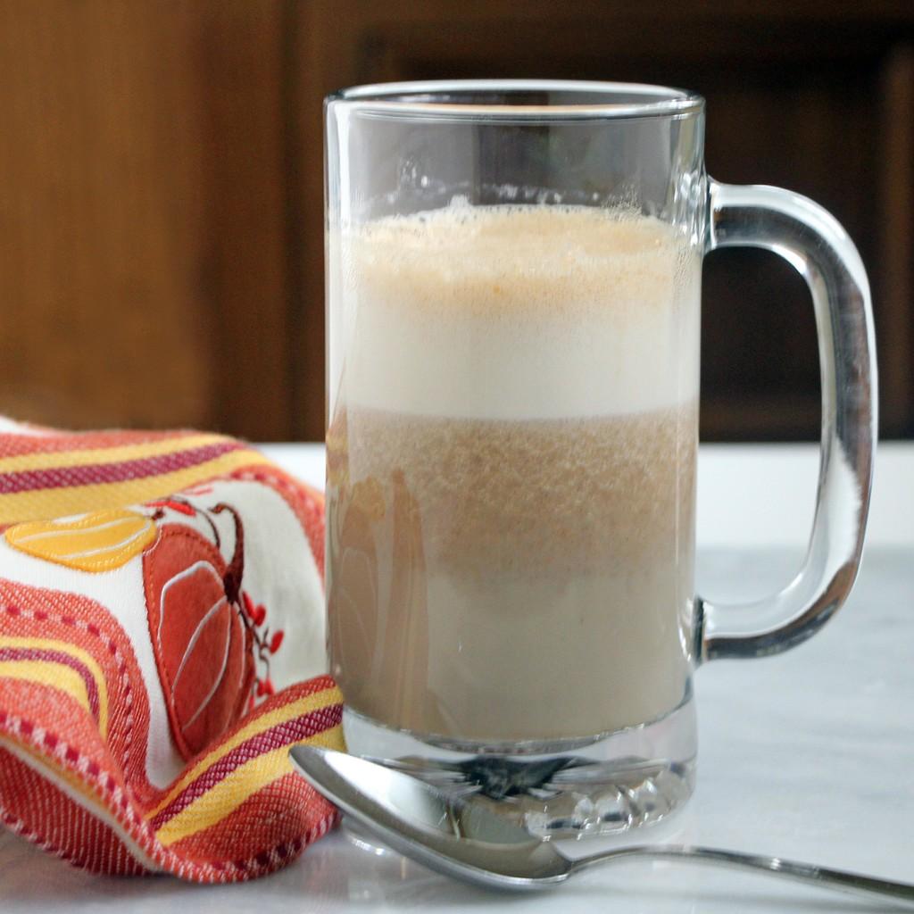 Foamy Pumpkin Chai Latte