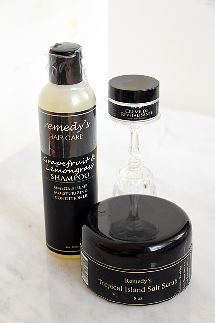 Remedy Shampoo, Scrub, Fine Line Eraser Giveaway