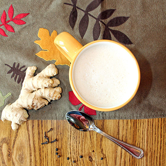 Pumpkin Chai Latte with spices