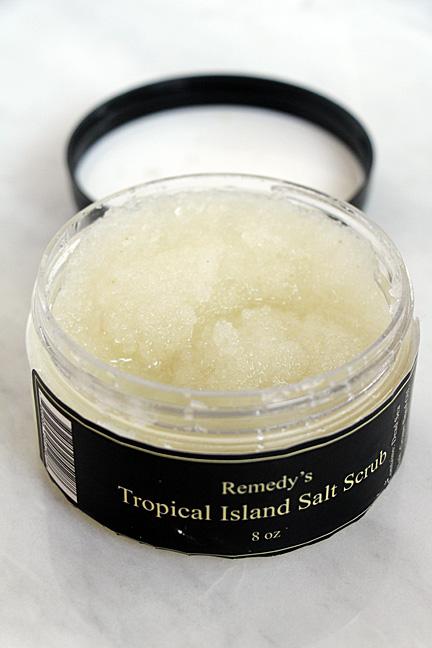 Remedy Tropical Island Salt Scrub