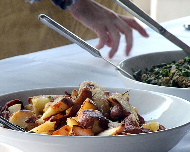 Farm to table food closeup