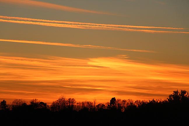 Sunset at Rare Earth Farm