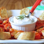 Rosemary Tomato & Goat Cheese Bruschetta