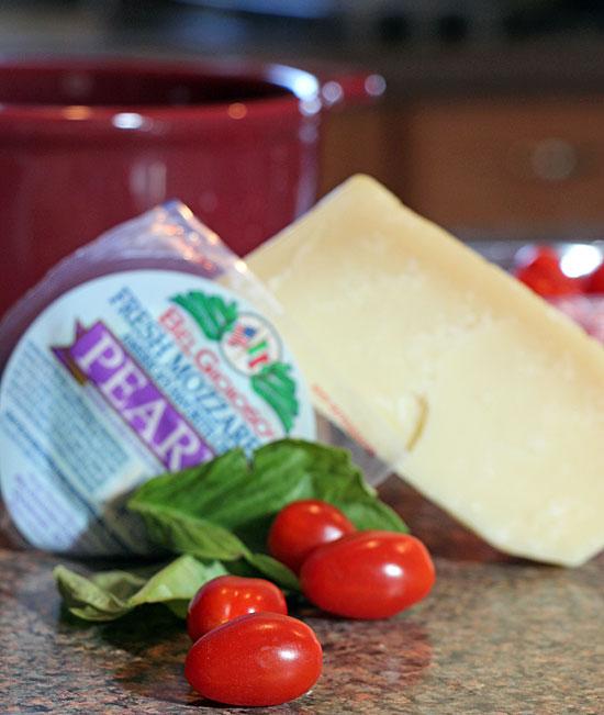 Cheesy Green Bean Gratinata Ingredients