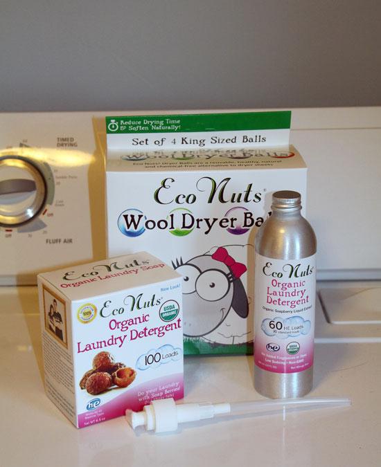 Eco Nuts Soap Nuts, Liquid Soap, Dryer Balls