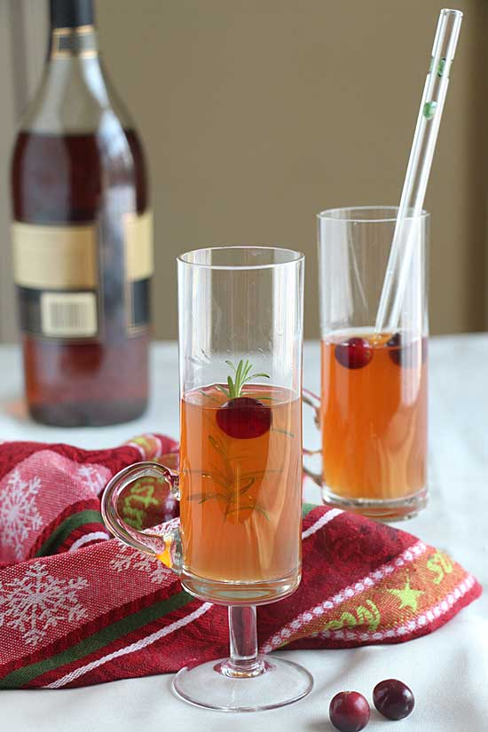 Spiced Cider with or without alcohol