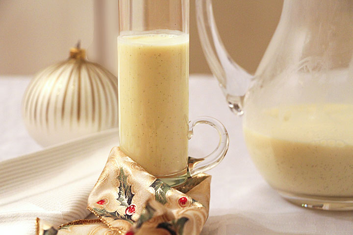 Drinking custard for Christmas