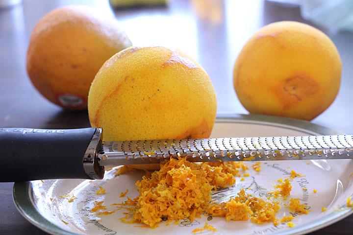 Zest and Juice Oranges
