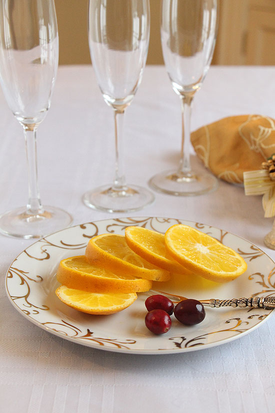 Sorbet and Champagne Cocktail - Art of Natural Living
