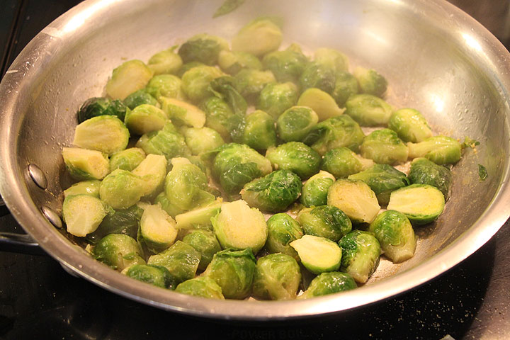 Pan Roast Sprouts003