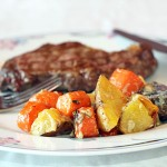 Blue Cheese Roasted Vegetables