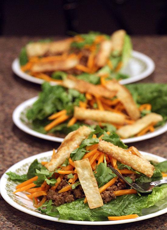 Thai Beef Salad Trio