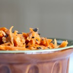 Thai Carrot Slaw Closeup