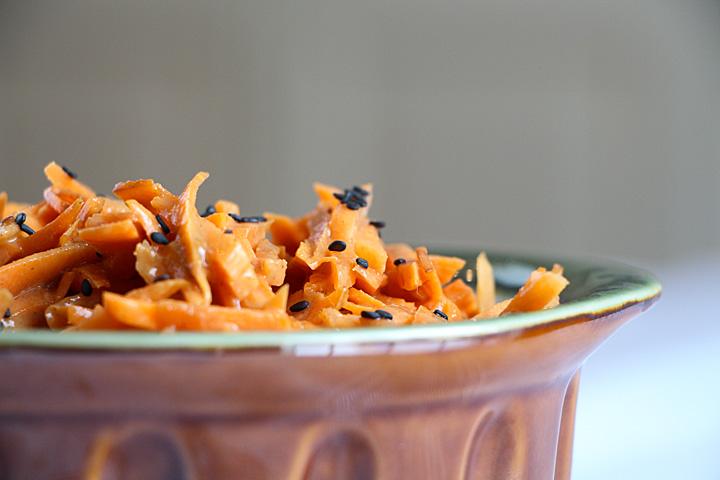 Thai Carrot Slaw