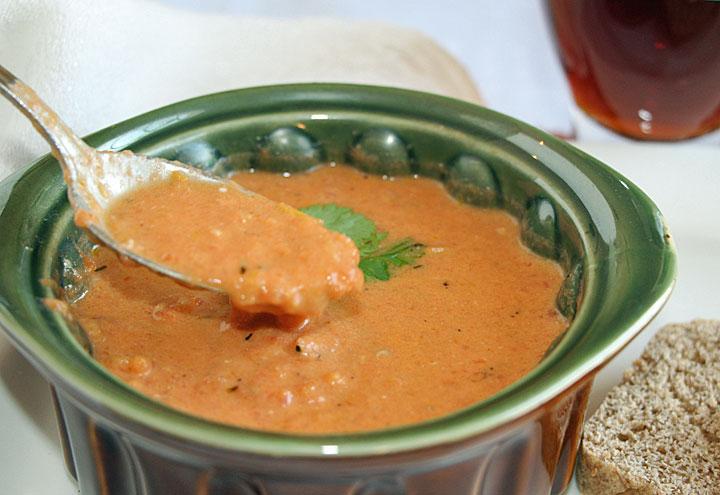 Bite of Tomato Stilton Soup