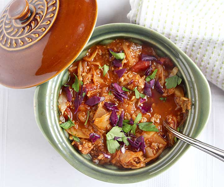Cabbage Roll Soup from above