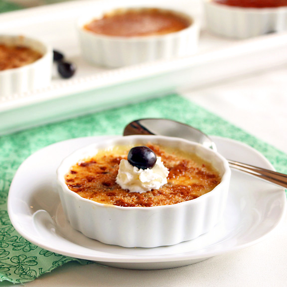 Irish Coffee Creme Brulee Trio