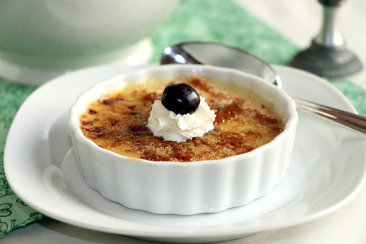 Irish Coffee Creme Brulee