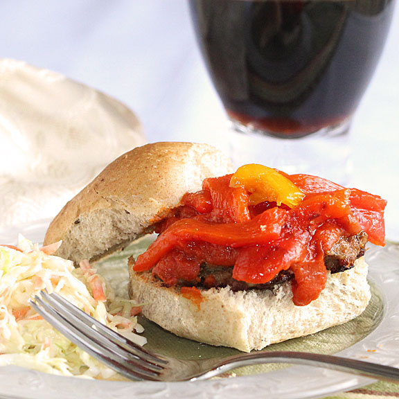 Homemade Italian Sausage Sandwiches meal