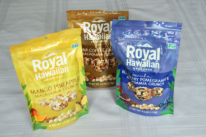 Royal Hawaiian Macadamia Crunch for a healthier care package