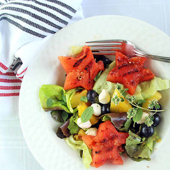 Grilled Fruit Salad from above