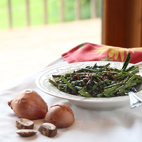 Asparagus & Mushrooms with Thyme
