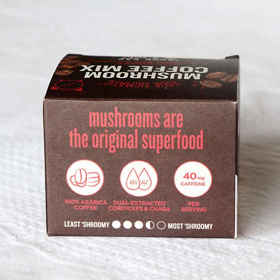 Coffee Mushroom Drink
