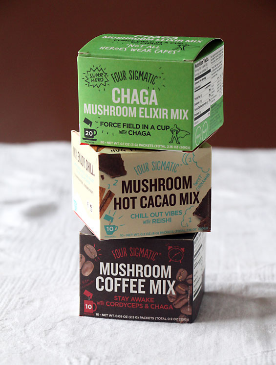 Four SIgmatic Mushroom Drinks