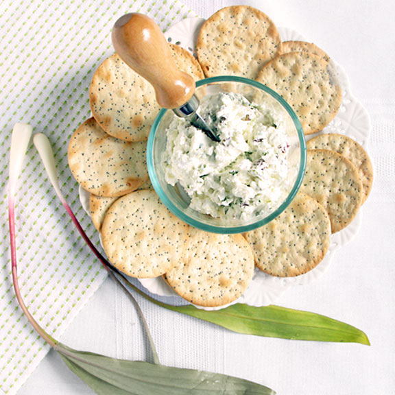 Wild Ramp Goat Cheese Spread