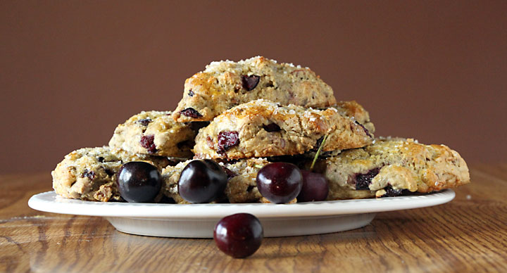 Cherry Maple Pecan Scones