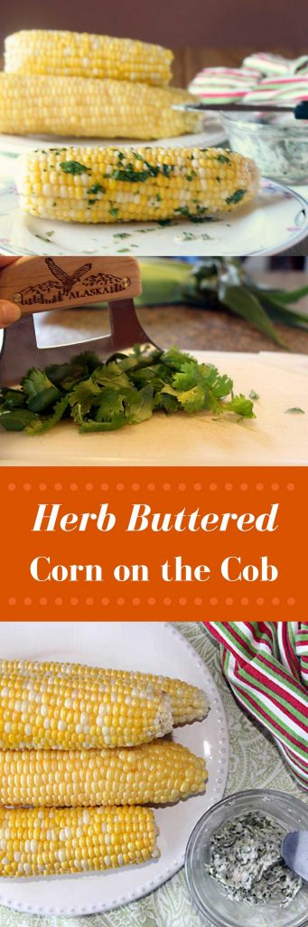 Herb Buttered Corn on the Cob is super easy and a fun twist on a classic!