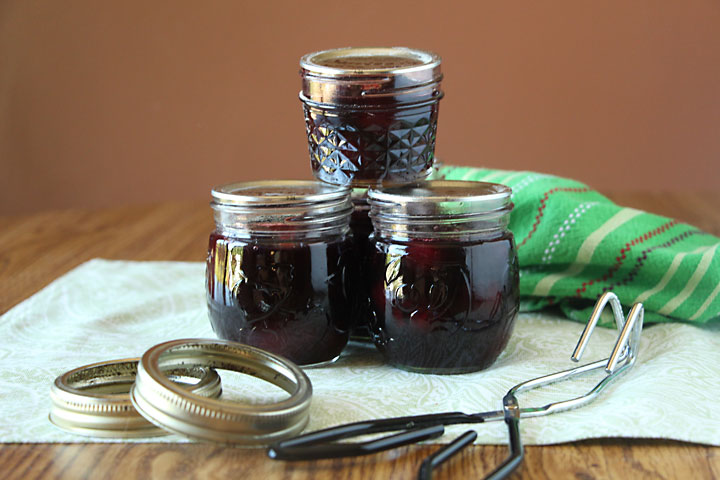 Canned Cherries in Red Wine