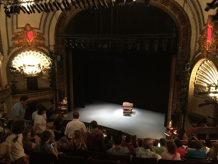 Pre-curtain at An American in Paris