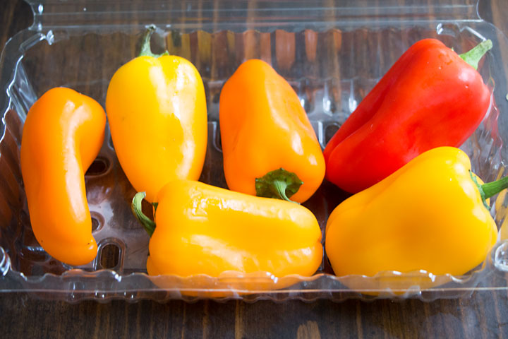 Mini Peppers for Italian Sausage Stuffed Mini Peppers