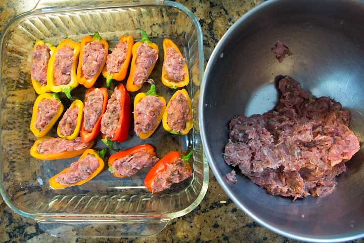 Stuffing Italian Sausage Stuffed Mini Peppers