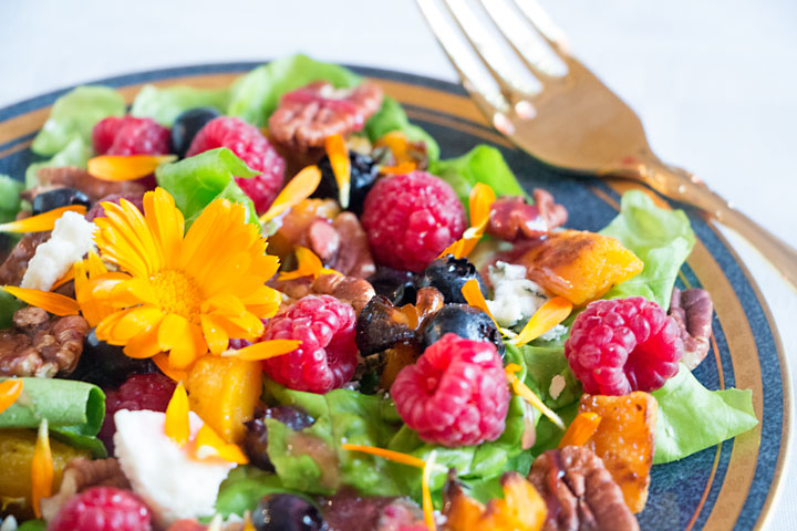 Fall Colors Raspberry Salad & a Giveaway