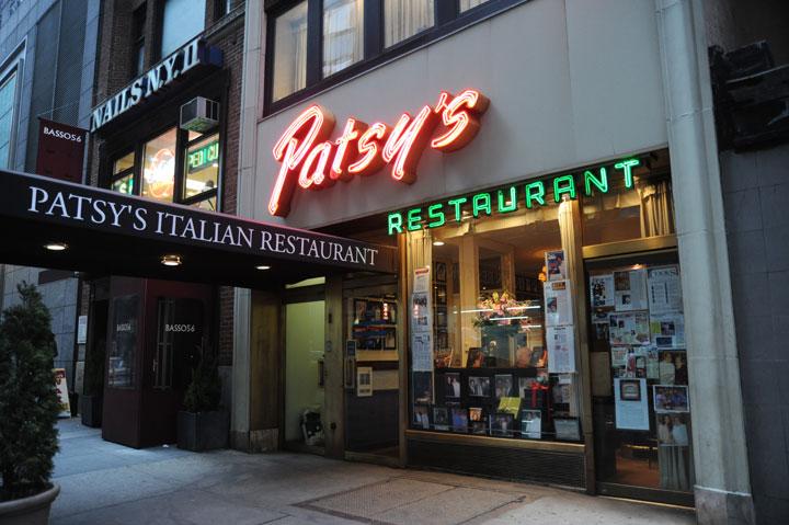 Patsy's Italian Restaurant, NYC