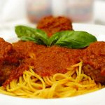 Patsy's Spaghetti and Veal Meatballs
