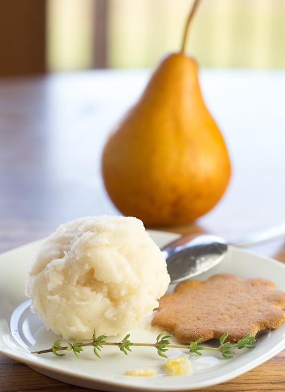 Pear Riesling Sorbet