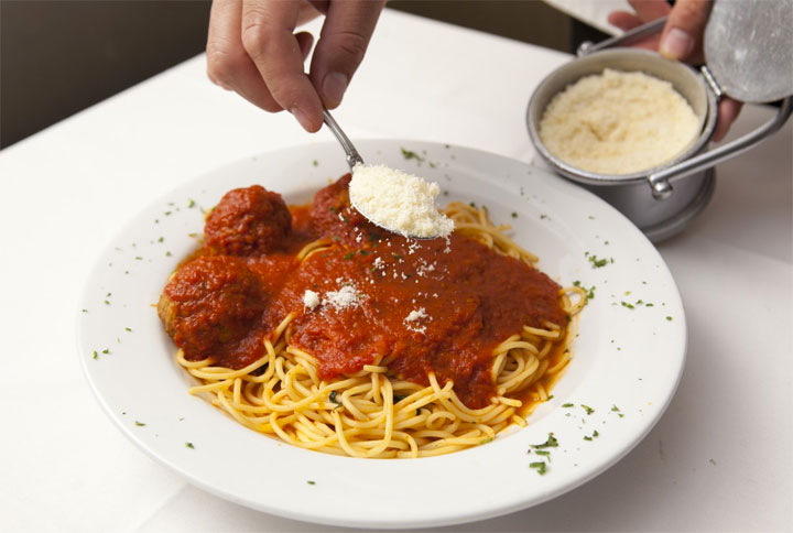 Patsy's Spaghetti & Veal Meatballs