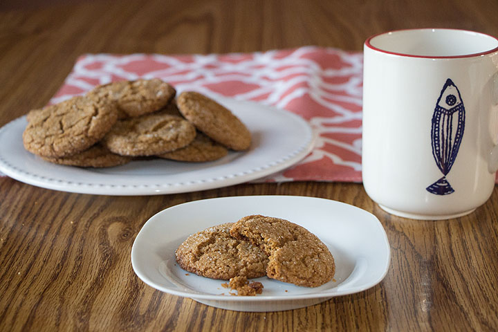 Easy Gluten Free Molasses Cookies