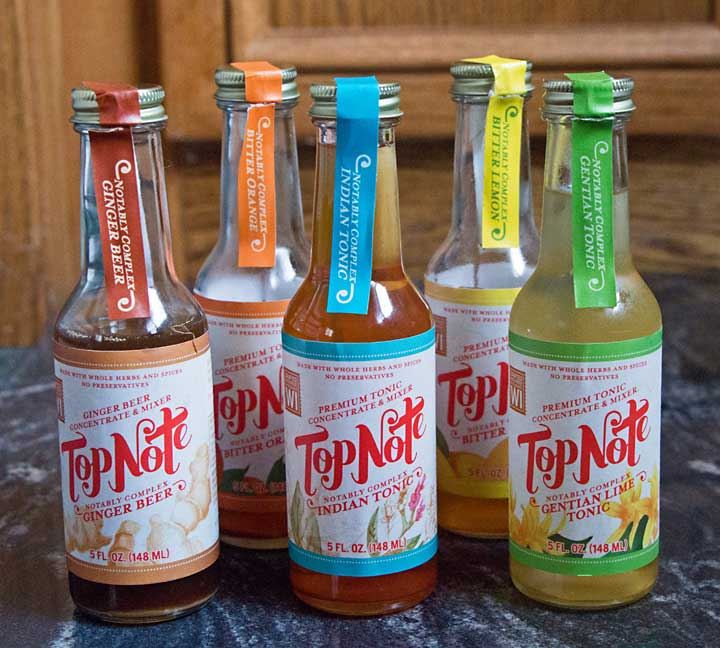 5 flavors of Top Note Tonics
