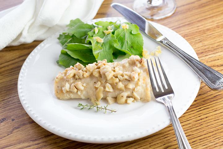 Cashew Crusted Mahi Mahi