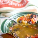 Southwest Pumpkin Black Bean Soup