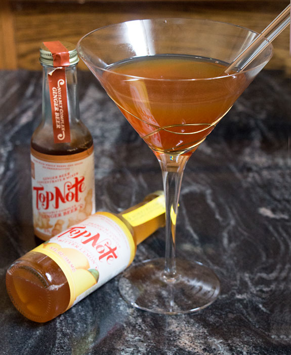 Top Note Ginger Jack Cocktail
