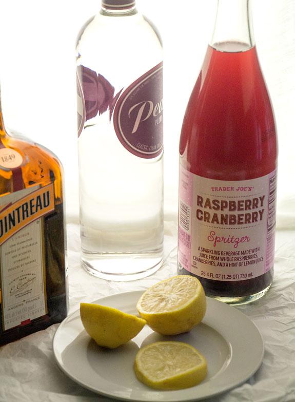 Sugar Plum Martini Ingredients