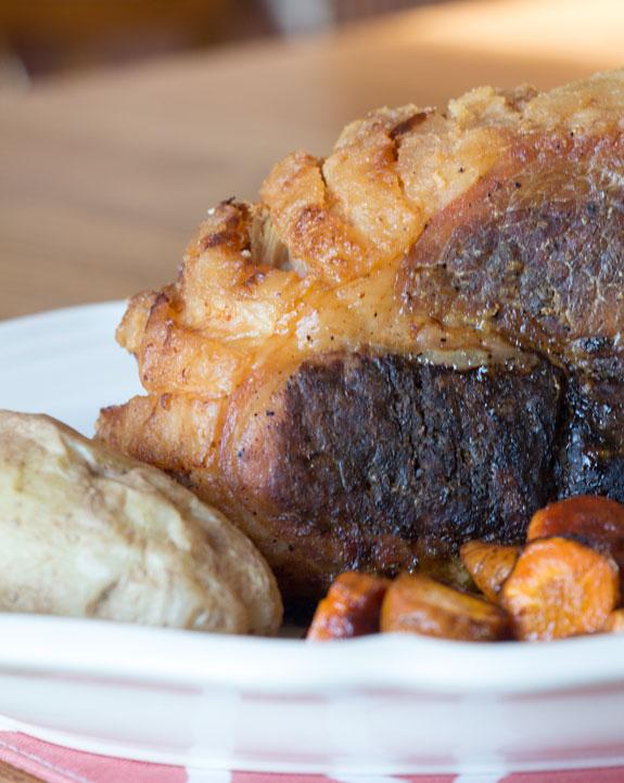 Crisp Pork Shoulder Roast