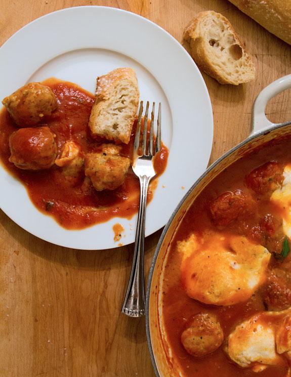 Meatball & Mozzarella Appetizer
