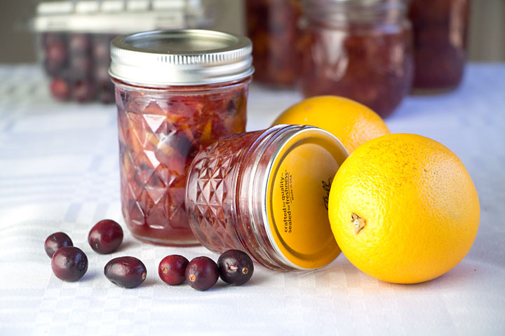 Did you know marmalade can be made without the bitter white pith? This orange cranberry marmalade is more like sweet tart candied orange peel.