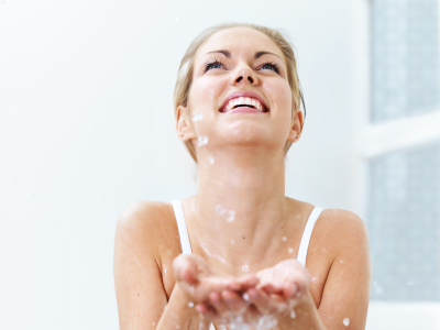 Even a shower can feel this good (stockphoto)